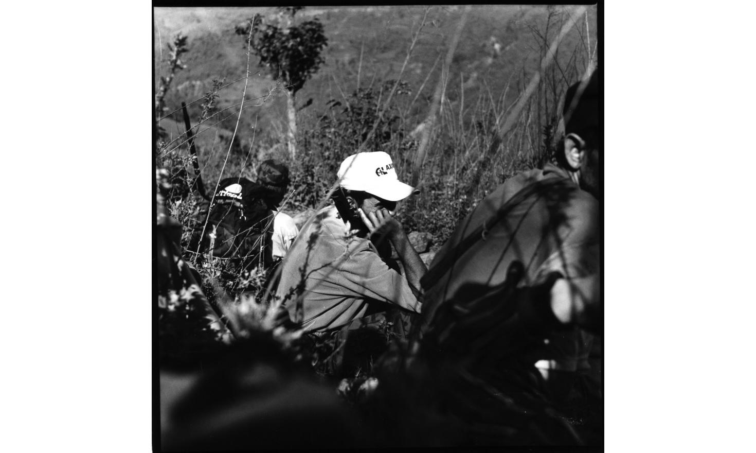 """Parasmani, the district committee secretary, on the way to Dunge Schwar, May 2001, Nepal : """"We want to bring a new world. When you give birth to a baby, there is pain and blood. We have to suffer a great pain. In this world the sacrifice of hundreds of"""