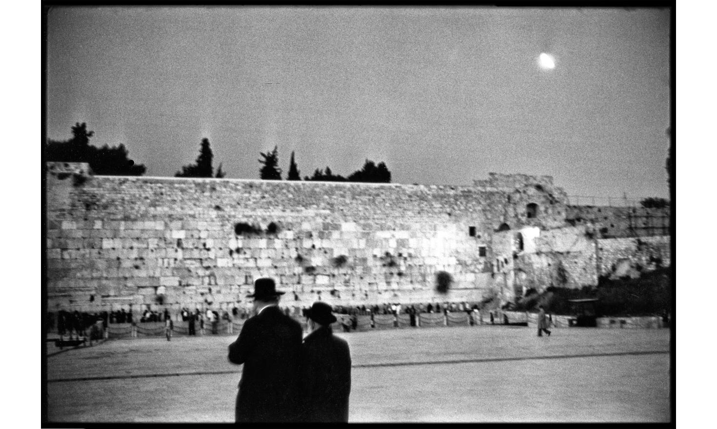 Wailing wall, Jerusalem. April 1982