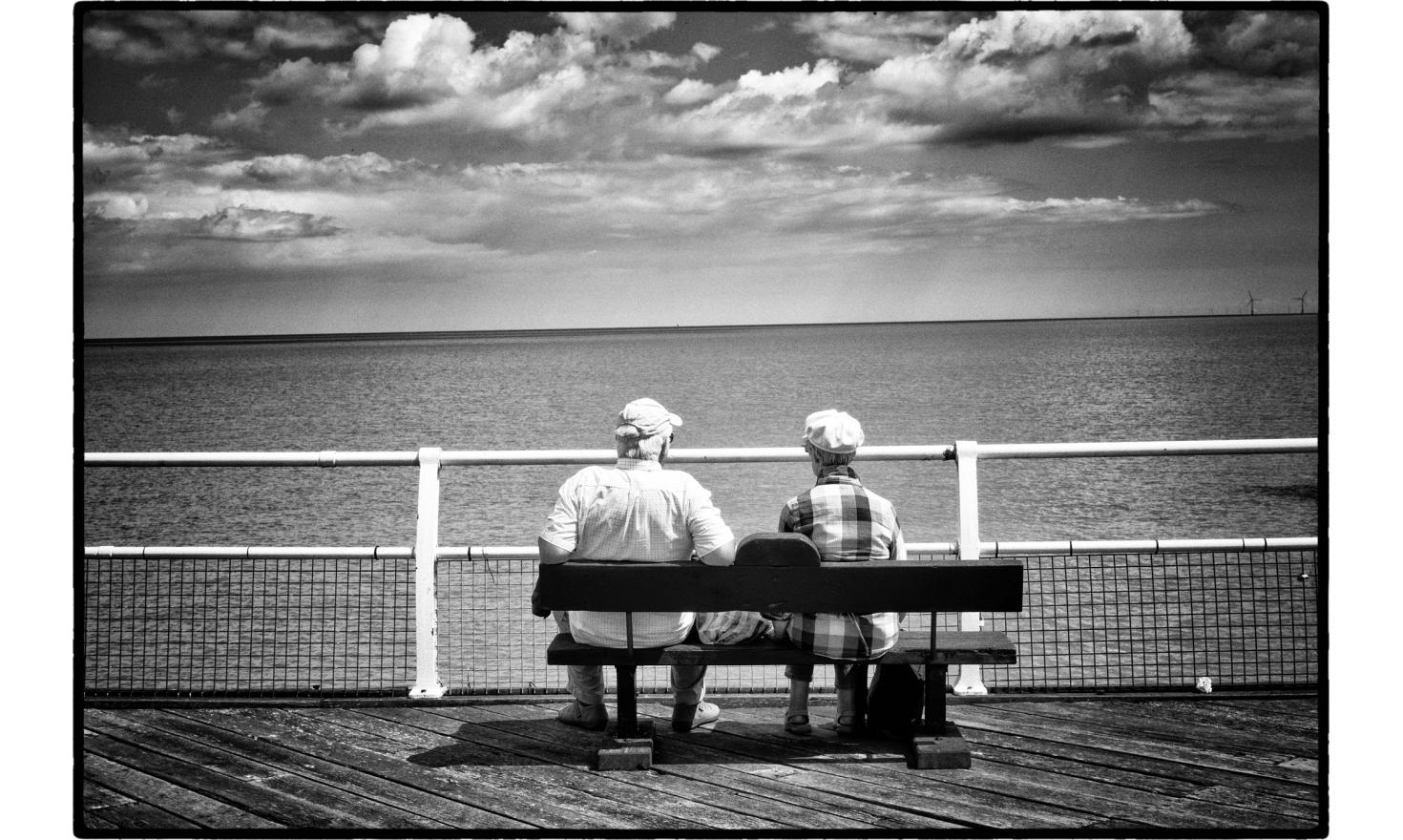 On the pier. Clacton on sea, England. July 2016