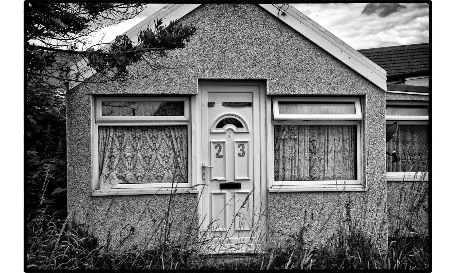 The suburb town of Jaywick is presented by government figures as the poorest town in the UK. Clacton on sea, England. July 2016