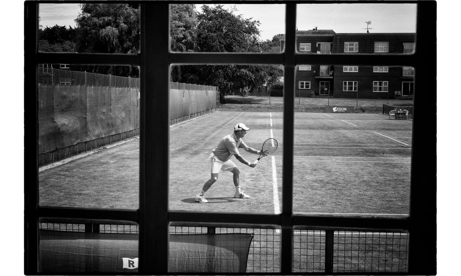 "Senoir final, tennis tounament in frinton, a very fancy toxn near Clacton. The Trending district has voted at 65% for the""leave""the EU. Frinton, England. July 2016"