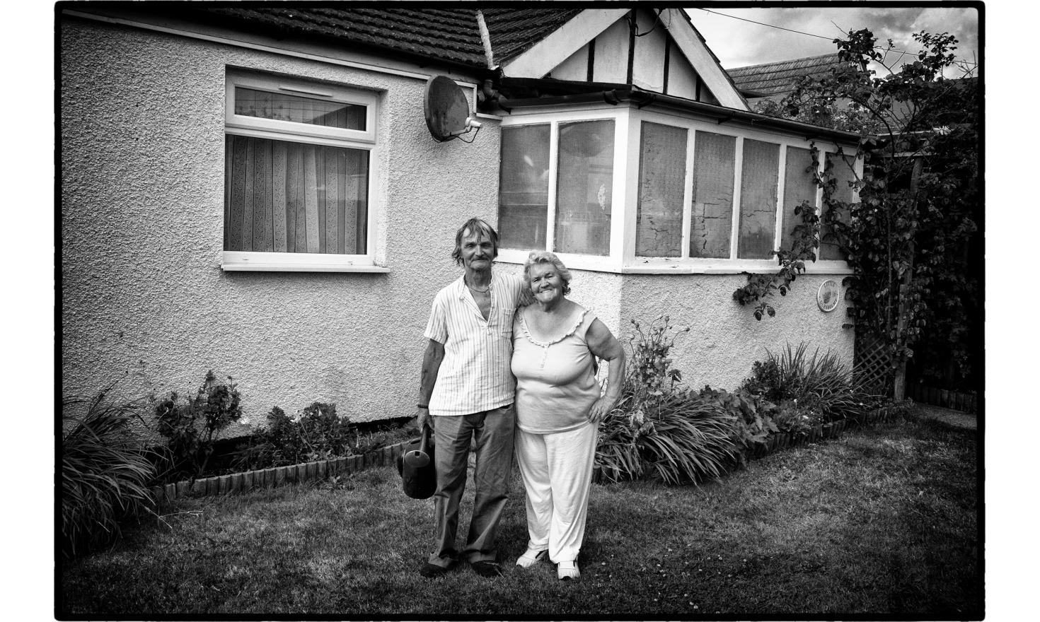 "Glenis and Roger are both 71. It has been a few years they moved to Jaywick. ""There is an amazing help here. We have never seen that elsewhere in England"". Jaywick, England. July 2016."