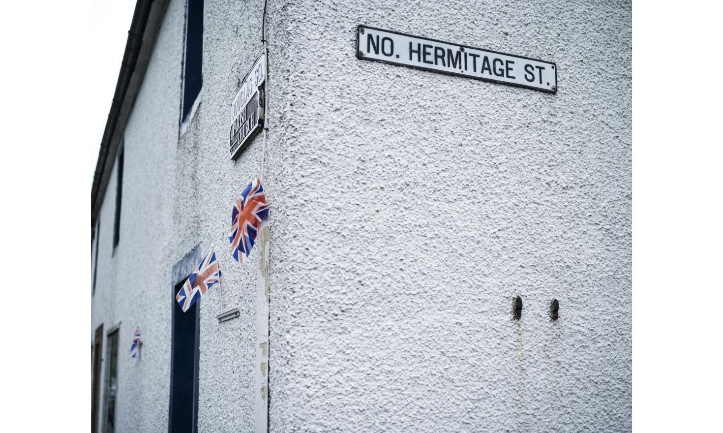 In the town of Castelton, in the Scottish Borders region of Scotland. The region voted 58,5% for remaining in the EU during the British EU Referendum.