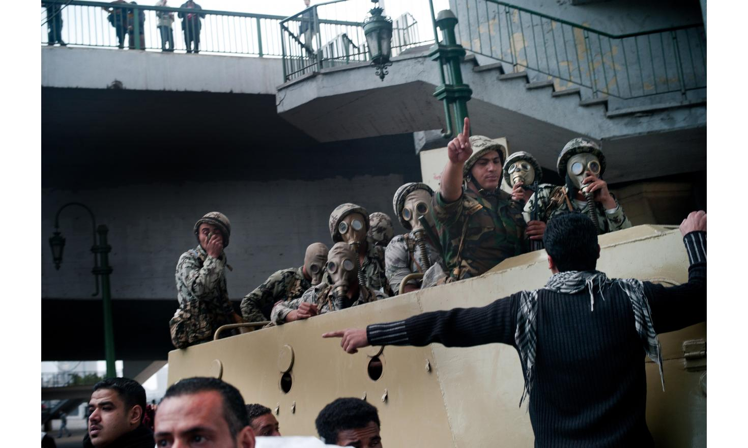 01/29 the army is deployed in Cairo