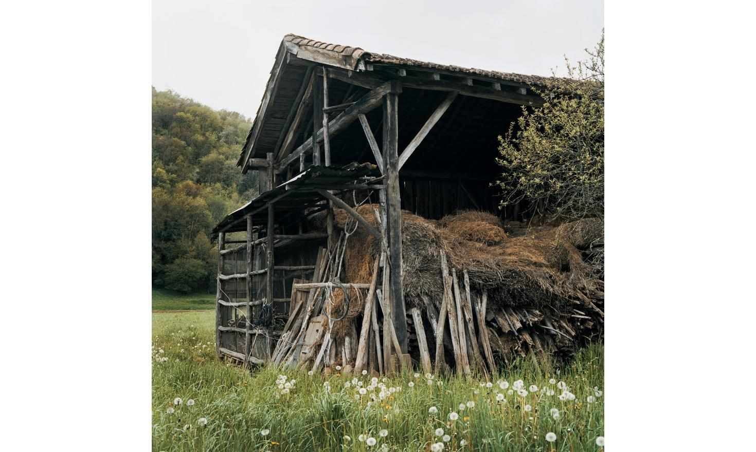 A Couserans's barn, time seems to stand still here. Ariege.