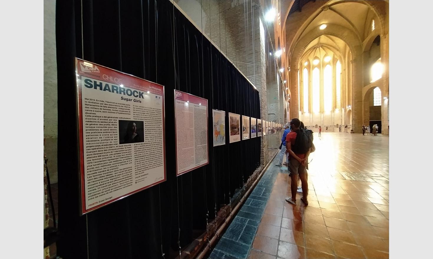 Exhibition at Visa Pour L'image 2020