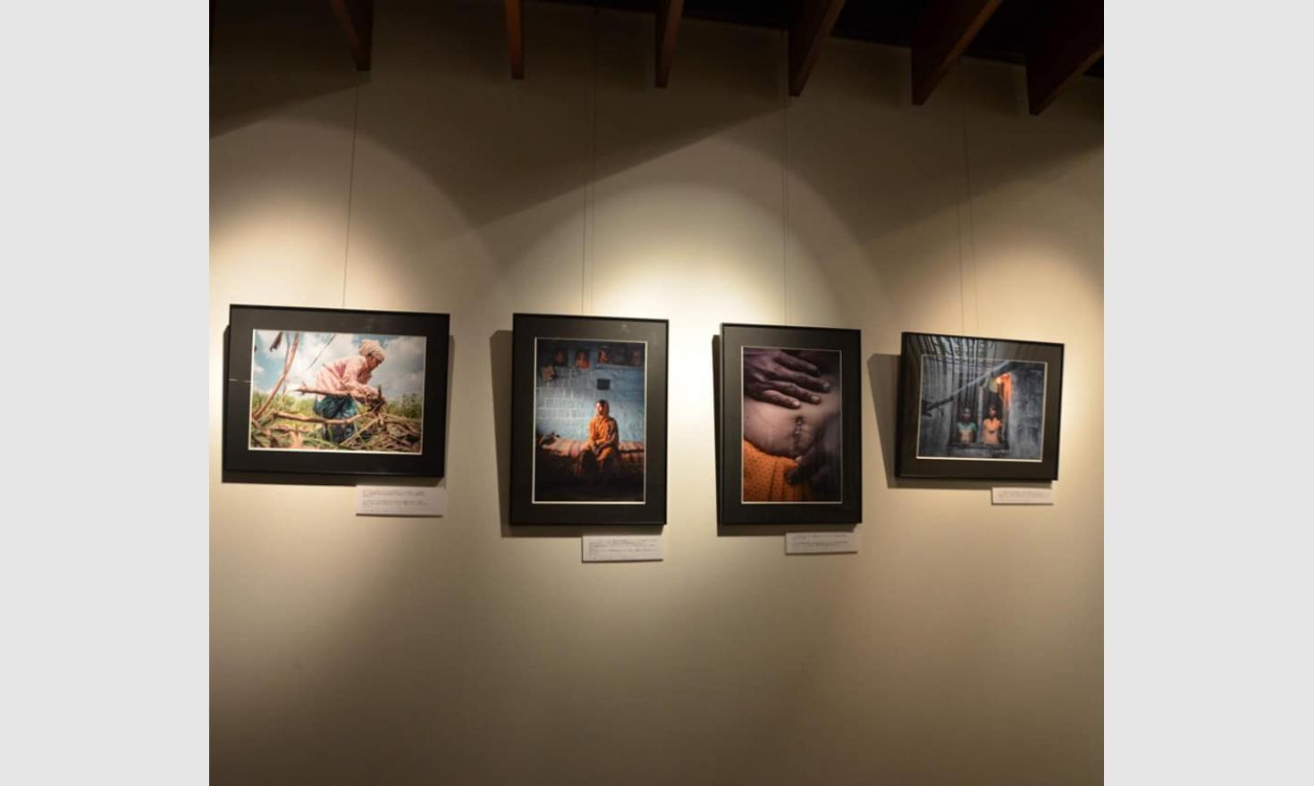 "Exhibition ""Sugar Girls"", Fukushima, Japan."