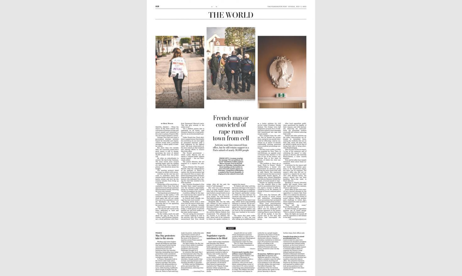The Washington Post, May 1st 2021