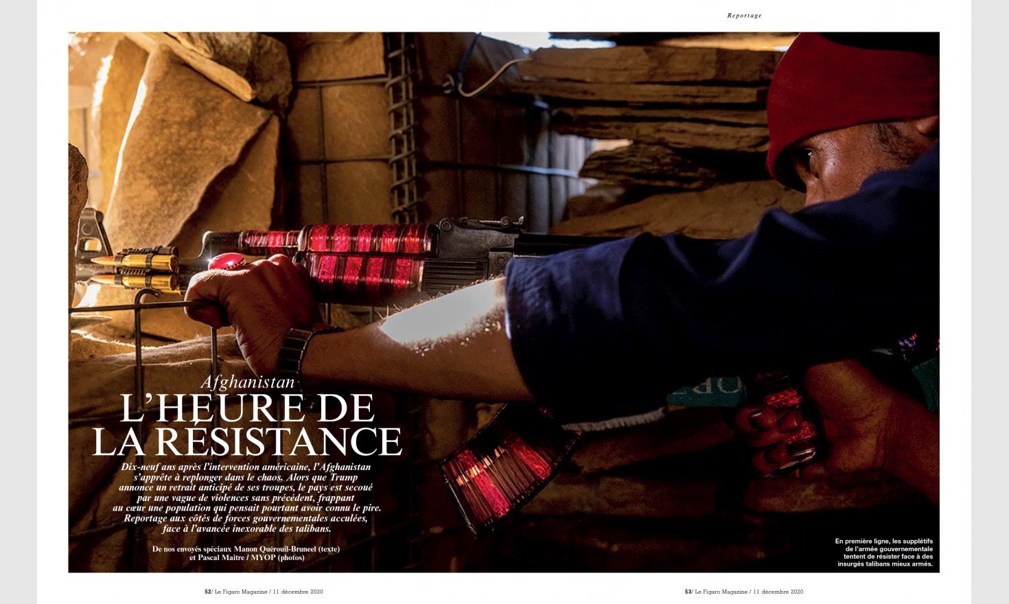 Figaro Magazine - Afghanistan