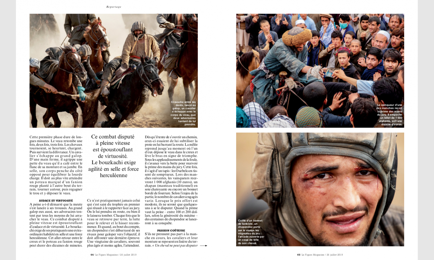 Figaro Magazine, 2019 © Pascal Maitre / MYOP