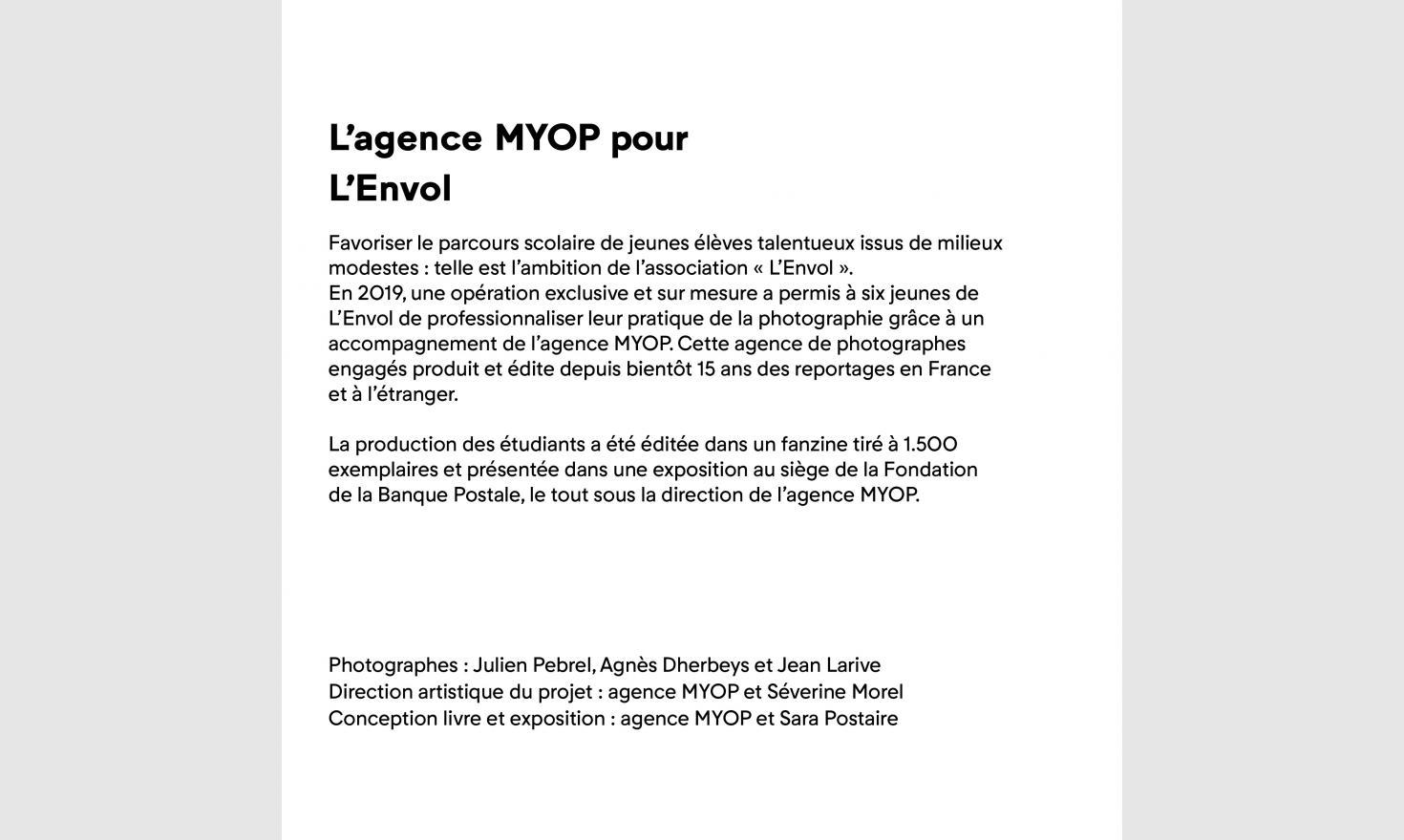 MYOP Prod