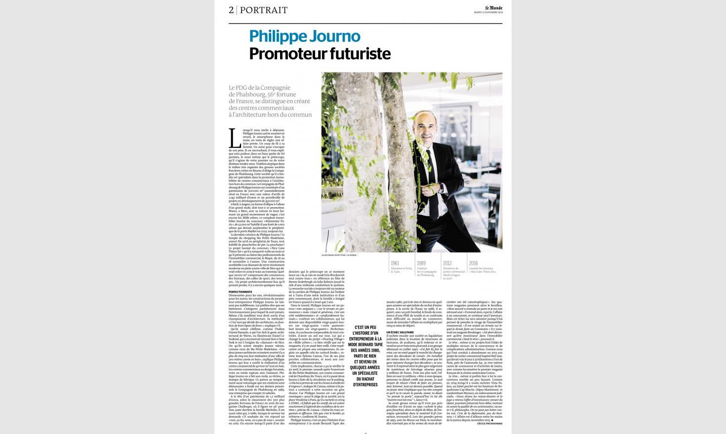 Le Monde. Philippe Journo