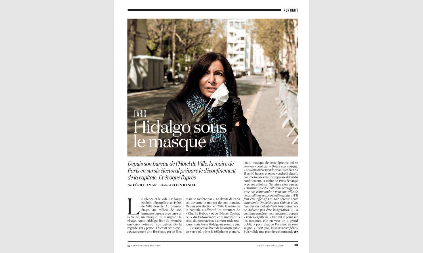 OBS. Anne Hidalgo