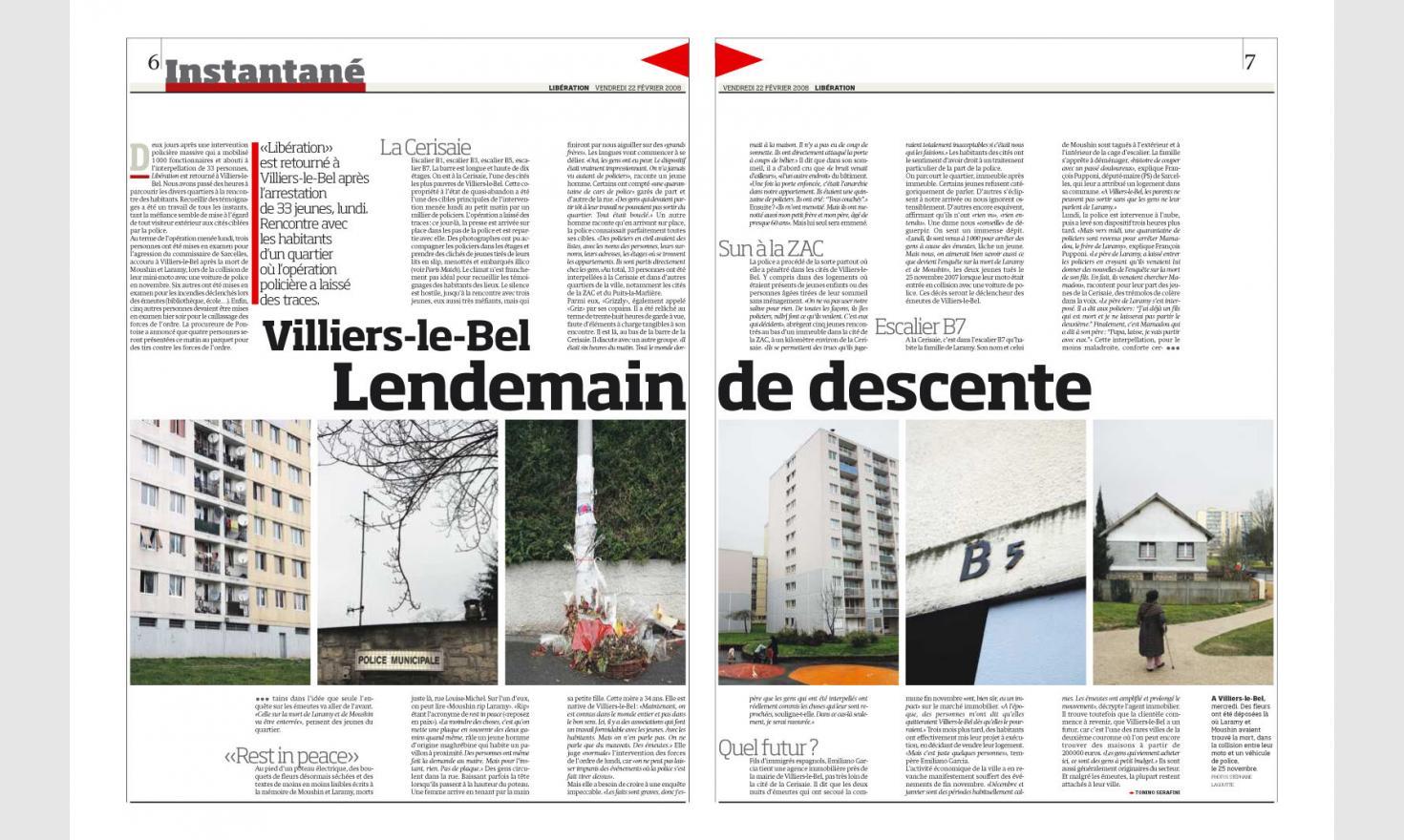 Libération - Villiers le Bel