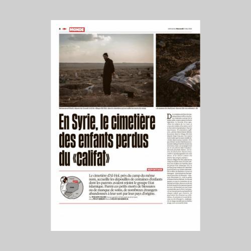 Libération - Syria, Al-Hawl, May 5th 2021