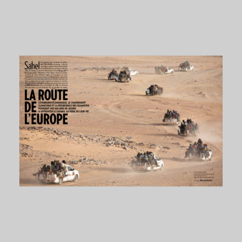 Paris Match - Sahel en Danger © Pascal Maitre / MYOP