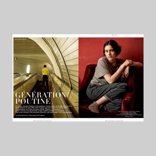Figaro Magazine. Generation Poutine