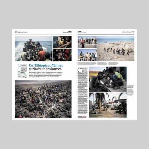 Le Monde: de l'Ethiopie au Yemen, sur la route des larmes