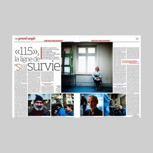 Libération / Samu Social 13-11-2008