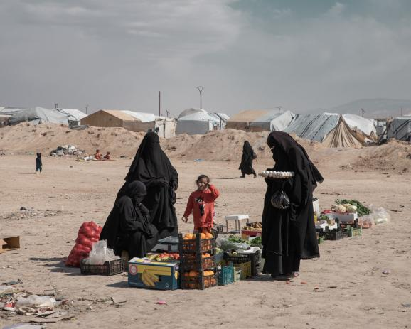 The «annex» is home to 12000 foreigners who joined ISIS' ranks, mostly women and children, with nationalities ranging from French to Russian or Chinese. If some countries repatriate their citizens, many others, notably in Europe, are refusing to bring t